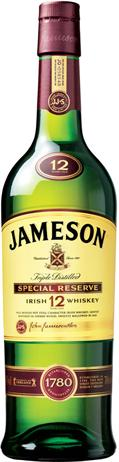 Jameson Irish Whiskey 12 Year Old Special Reserve